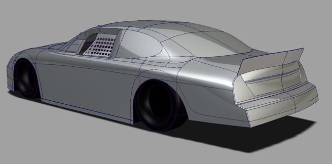 Autodesk 3D NASCAR