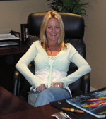 Renee Conrad at SC Performance Marine Offices