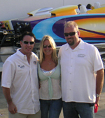 Russ Wicks with Renee and Scot Conrad