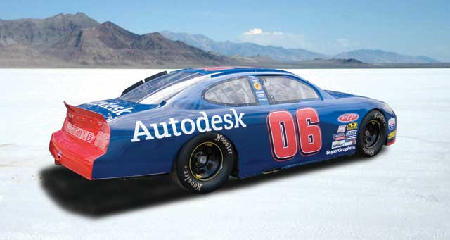 NASCAR-spec Ford Taurus