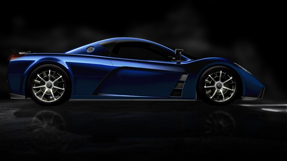 Kepler Motors MOTION Supercar
